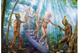"fot. David LaChapelle, ""Reconnect"" / Kalendarz Lavazza 2020"