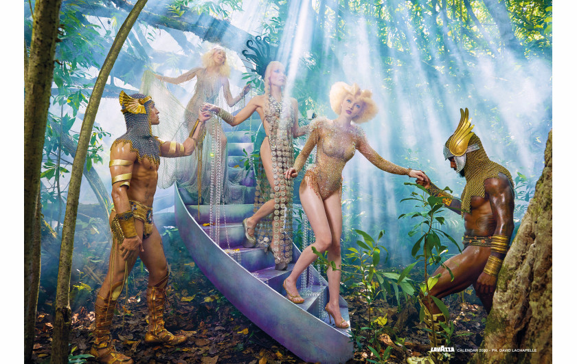 fot. David LaChapelle, Reconnect / Kalendarz Lavazza 2020