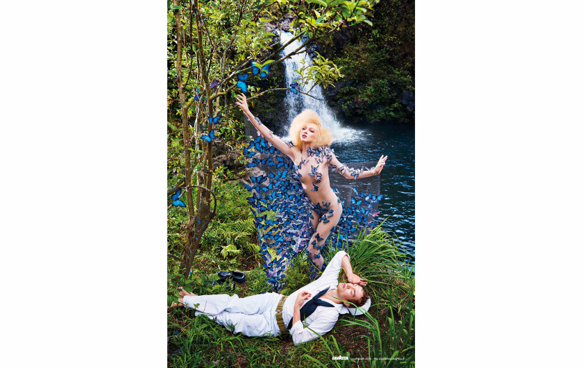 fot. David LaChapelle, Change / Kalendarz Lavazza 2020