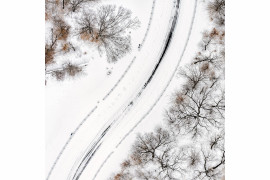 "fot. Filip Wolak ""Snow On The Road"""