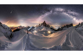 "fot. Nicolai Brugger, ""Road to Glory"" / Insight Investment Astronomy Photographer of the Year 2019"