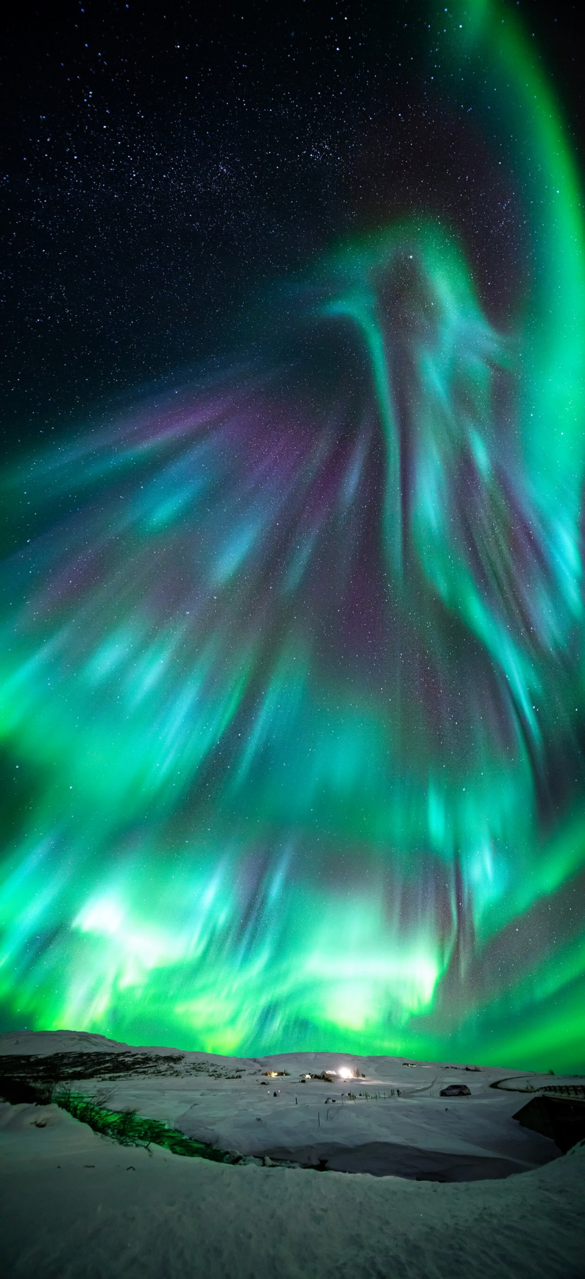 "fot. Wang Zheng, ""Aurora like Phoenix"" / Insight Investment Astronomy Photographer of the Year 2019"