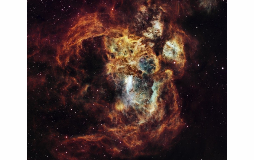 fot. Suavi Liponski, Fiery Lobster Nebula / Insight Investment Astronomy Photographer of the Year 2019