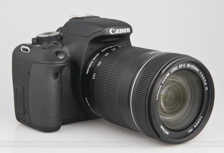 Canon eos 600d test for Housse canon eos 600d