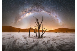 "fot. Stefan Liebermann, ""Dead Valley"" / Insight Investment Astronomy Photographer of the Year 2019"