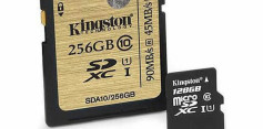 Kingston 256 GB Class 10 UHS-I SDXC