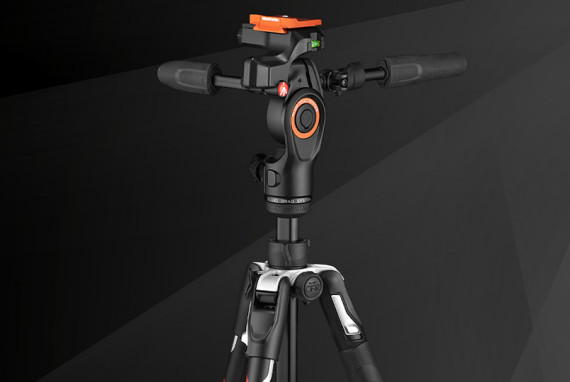 Manfrotto Befree Advanced 3W Live - hybrydowy statyw podróżny do filmu i fotografii