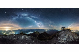 "fot. Nicolai Brugger, ""View Point"" / Insight Investment Astronomy Photographer of the Year 2019"