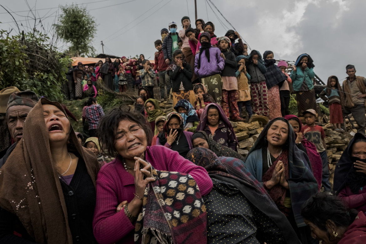 "3. miejce w kategorii ""General News - cykle"", fot. Daniel Berehulak, ""An Earthquake's Aftermath"", Nepal"