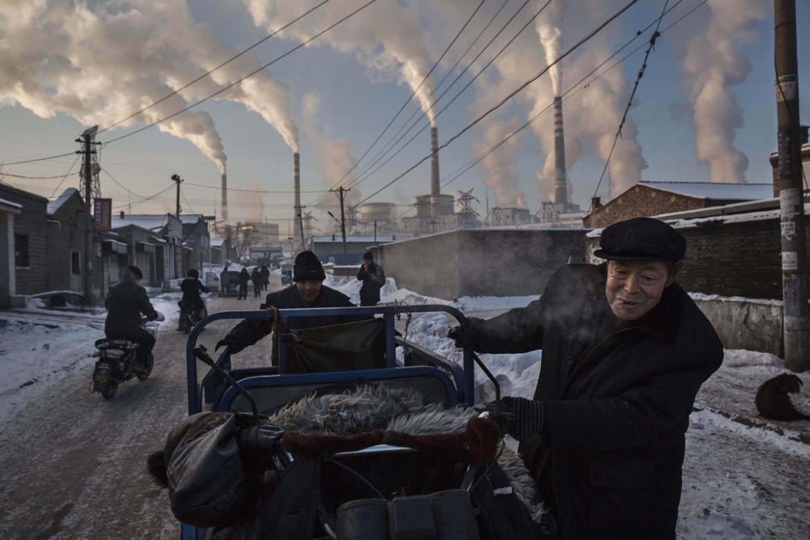 "1. miejsce w kategorii ""Daily Life"", fot. Kevin Frayer, ""China's Coal Addiction"""