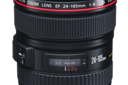 Canon EF 24-105mm f/4L IS USM - lekka