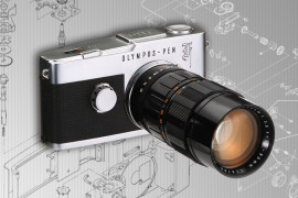 Olympus PEN-F - historia legendy