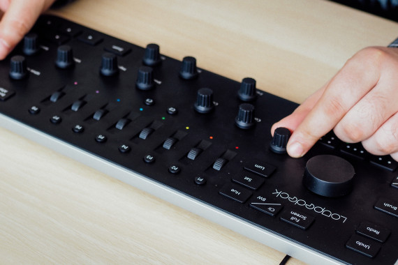 Loupedeck - test konsoli do Lightrooma