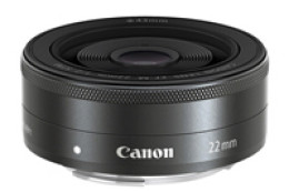 Canon EF-M 18-55mm F3.5-5.6 IS STM i Canon EF-M 22mm f/2 STM