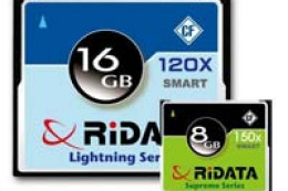 Ridata SMART Compact Flash - sprytne karty