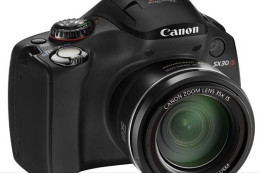 Canon PowerShot SX30 IS - 35-krotny zoom od 24 mm