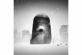 "fot. Andreas Pohl ""The Man and the Mysterious Tower"", Niemcy.