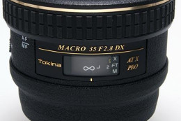 Tokina AT-X PRO Macro 35 mm F2.8 DX - cyfrowe makro