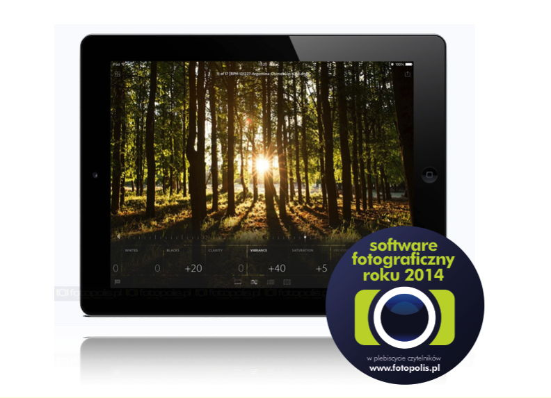 Software fotograficzny 2014: Adobe Lightroom mobile na tablety